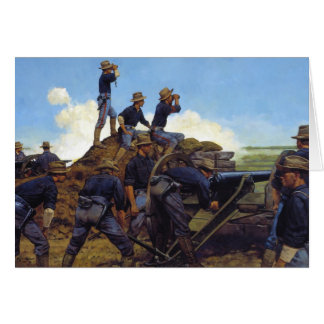 The Utah Light Artillery by Keith Rocco Card