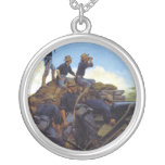 The Utah Light Artillery by Keith Rocco Necklace