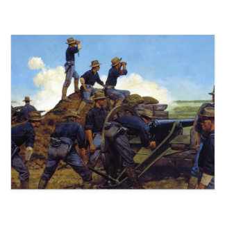 The Utah Light Artillery by Keith Rocco Postcard