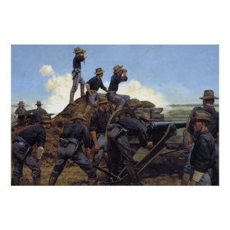 The Utah Light Artillery by Keith Rocco Print