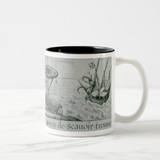 The Utilisation of the Sextant Two-Tone Coffee Mug