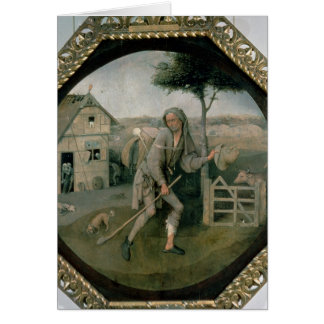 The Vagabond/The Prodigal Son, c.1510 Card