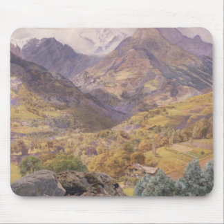 The Val d'Aosta, 1858 (oil on canvas) Mouse Pad