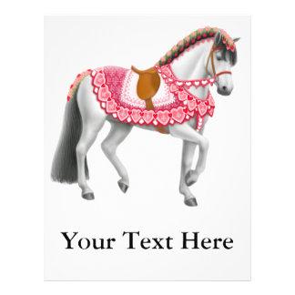 The Valentine Horse Flyer