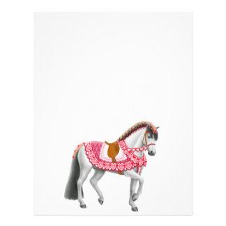 The Valentine Parade Horse Letterhead