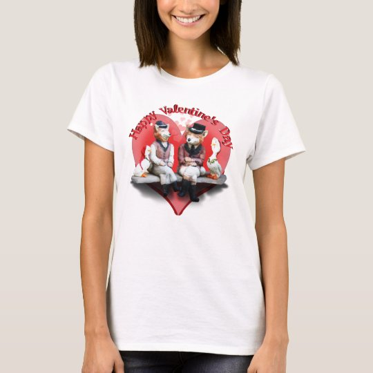 The Valentine's Day Foxy Couple T-Shirt
