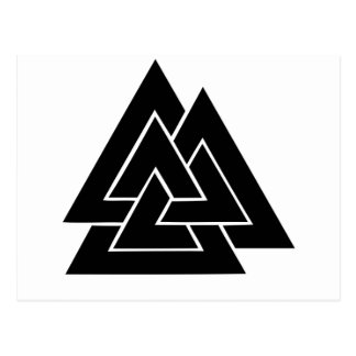 The Valknut Postcard