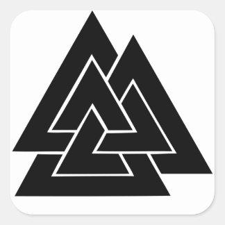 The Valknut Square Sticker