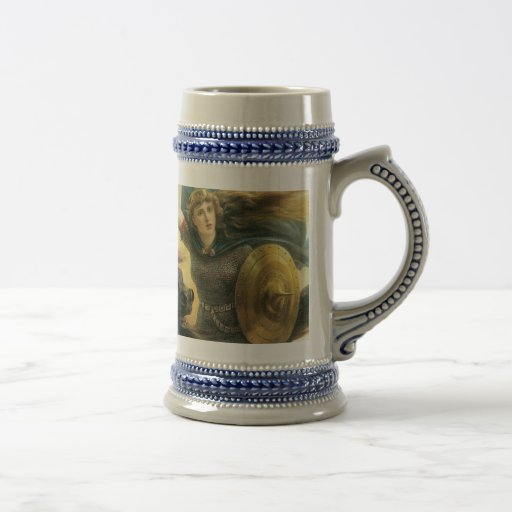 The Valkyrie (stein), by Peter Nicolai Argo Mug