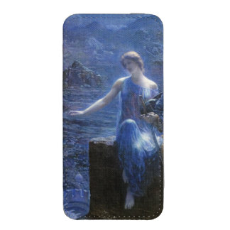 The Valkyries Vigil (1906) by Edward Robert Hughes iPhone 5 Pouch
