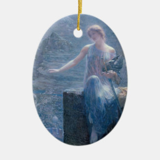 The Valkyrie's Vigil - Ornament
