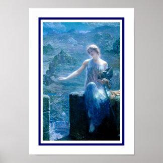 'The Valkyrie's Vigil' Poster