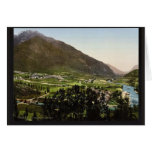 The valley, Laruns, Pyrenees, France classic Photo Greeting Cards