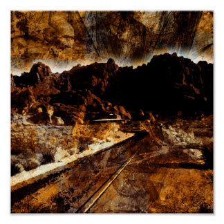 The Valley of Fire Print