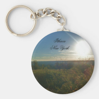 THE VALLEY OF ITHACA keychain