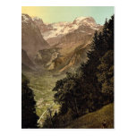 The Valley of Linth (Lintthal) and the Todi, Glaru Postcards