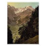 The Valley of Linth (Lintthal) and the Todi, Glaru Poster