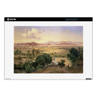 "The Valley of Mexico from the Low Ridge of Tacubay 15"" Laptop Skins"