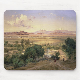 The Valley of Mexico from the Low Ridge of Tacubay Mouse Pad