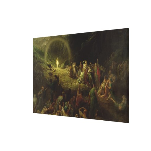The Valley of Tears, 1883 Gallery Wrapped Canvas