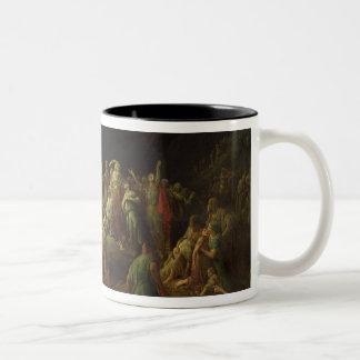The Valley of Tears, 1883 Two-Tone Coffee Mug
