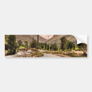 The Valley of the d'Oô, Luchon, Pyrenees, Fr Bumper Stickers
