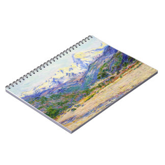 The Valley of the Nervia, 1884 Claude Monet Notebook
