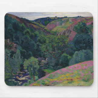 The Valley of the Sedelle, 1897 (oil on canvas) Mouse Pad
