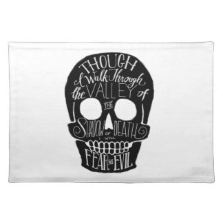 The Valley of the Shadow of Death Cloth Placemat
