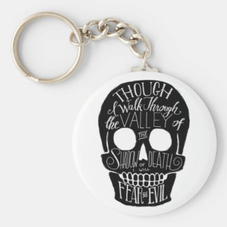 The Valley of the Shadow of Death Keychain