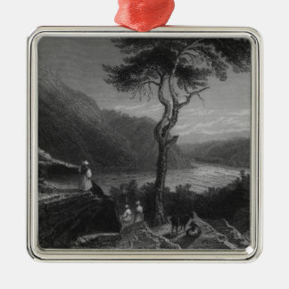 The Valley of the Shenandoah, from Jefferson Metal Ornament