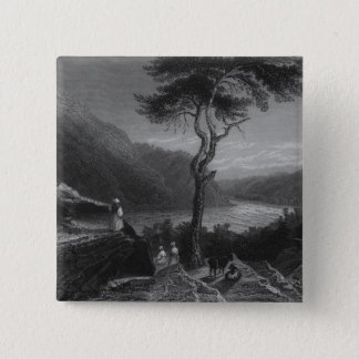 The Valley of the Shenandoah, from Jefferson Pinback Button