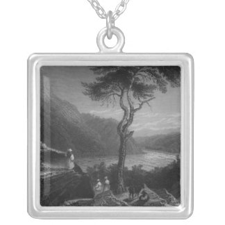 The Valley of the Shenandoah, from Jefferson Silver Plated Necklace