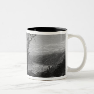 The Valley of the Shenandoah, from Jefferson Two-Tone Coffee Mug