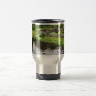 The Valley (Park), Seen From The Bridge, Kilcullen 15 Oz Stainless Steel Travel Mug