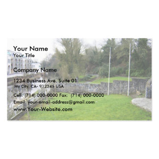 The Valley (Park), Seen Over The Credit Union Gard Business Card Template