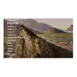 The valley, Sarca, Garda, Lake of, Italy classic P Business Card Template