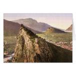 The valley, Sarca, Garda, Lake of, Italy classic P Card