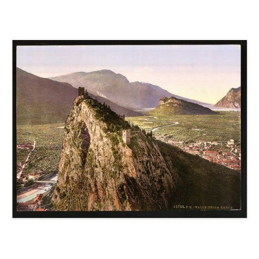 The valley, Sarca, Garda, Lake of, Italy classic P Post Card