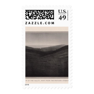 The valley, west from the proposed Athenaeum Postage Stamp