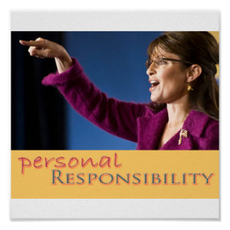 The Value of Personal Responsibility Poster