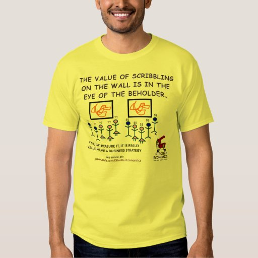 The Value of Scribbling t-shirt