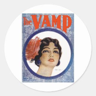 The VAMP Classic Round Sticker
