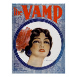 The VAMP Vintage Sheet Music Art By Henry Hutt Poster