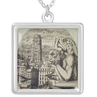 The Vampire , 1853 Silver Plated Necklace