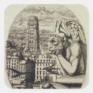 The Vampire , 1853 Square Sticker
