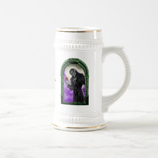 The vampire and the rose beer stein