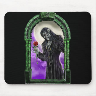 The Vampire and the rose Mouse Pad