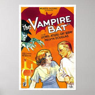 The Vampire Bat Monster Movie Poster