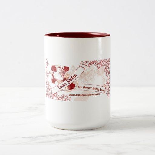 The Vampire Destiny Series Coffee Mug-Team Stefan